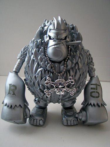 Da Ape Bling Figurine by Tim Tsui