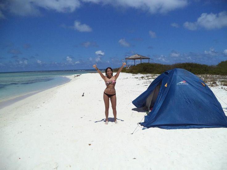 Cómo acampar en una playa desierta de la Isla Gran Roque (Venezuela)