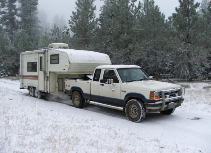 Ford Ranger Towing A Camper Ford Rangers Camper Ford