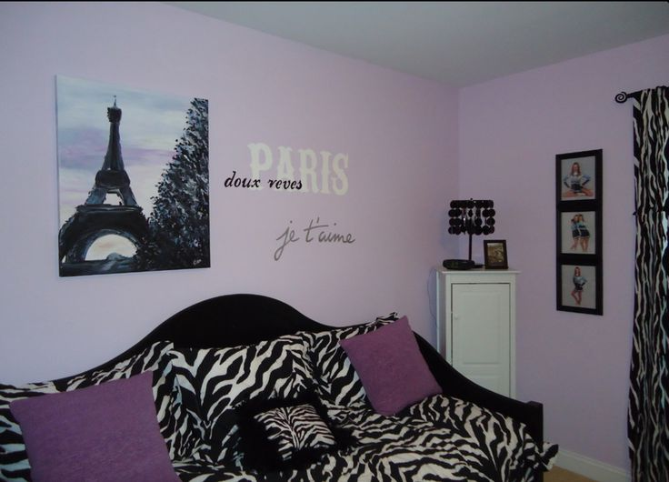 Lovely Paris Theme Bedrooms Design, Pictures, Remodel, Decor And Ideas   Page 3  Want This Room! Its Freakin Zebra And Paris All In One!