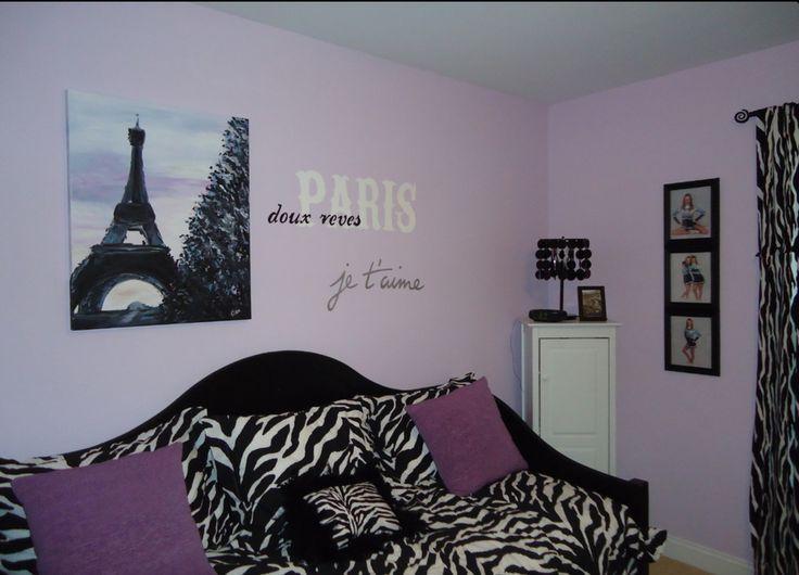 17 best images about paris bedrooms on pinterest paris for Decoration chambre theme paris
