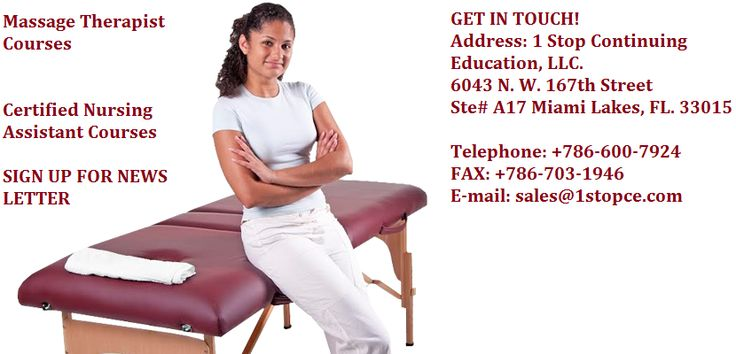 Online massage courses are provided by 1stopce. Massage therapy had proved to promote health. People take massage because it reduces variety of health related problems including remove stress, anxiety, tiredness. It gives relaxation to body.  http://1stopce.com/massage-therapist/ #MassageContinuingEducationOnline #MassageCeHours #HomeStudyMassageCourses #NcbtmbApproved #MassageCeusOnline #MassageCeus #MassageCoursesOnline #Online Courses For Massage Therapists #OnlineMassageCeus