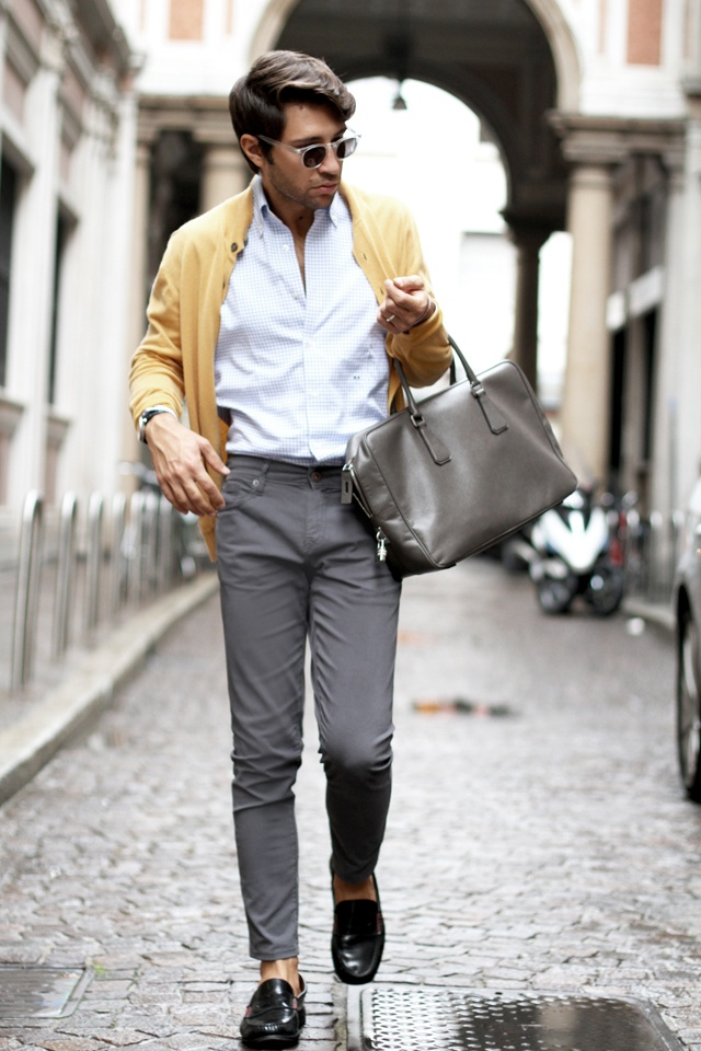 Loafers Leather Men Images Country Porch Designs