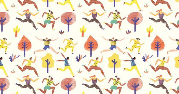 Patterns by Mónica Andino, via Behance