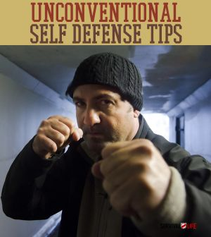 Unconventional survival self defense tips and creative skills, gear. | http://survivallife.com/2014/06/18/unconventional-self-defense-tips/