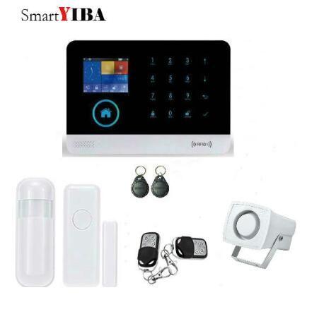 Best 25 home alarm kits ideas on pinterest apple home smartyiba app control wifi 3g gprs home alarm system 3g wcdmacdma wireless security alam solutioingenieria Images
