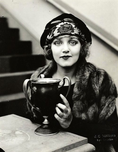 mildred davis, j. c. milligan, vintage, actress, black and white, 1920s.