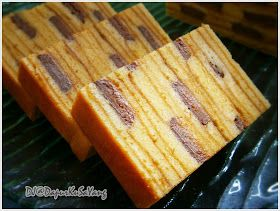 DapurKu SaYang: Kek Lapis India / Cadbury Layered Cake