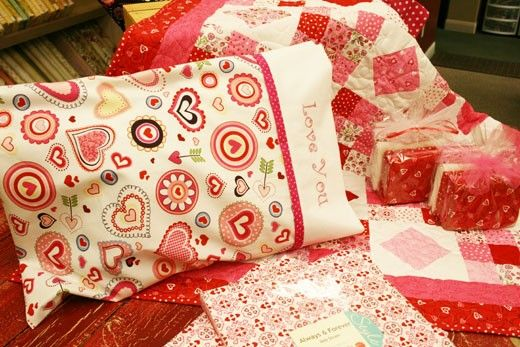 to make a pillowcase.