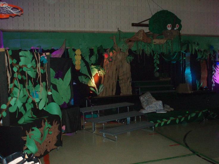 Jungle Book Musical backdrop