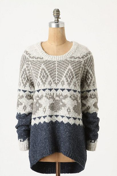 Big cozy sweater - I want.