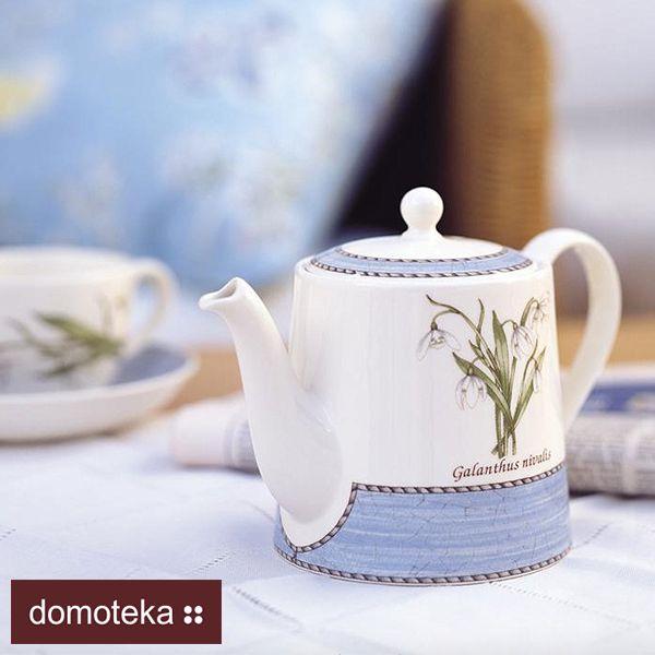 """""""Sarah's Garden"""" to serwis ceramiczny nawiązujący do tradycji Wedgwood'a – po angielsku konserwatywny, z wzorem z kwiatów i ziół, ale też w klimacie prowansalskim, południowym, jakby popękany, z patyną wieków."""