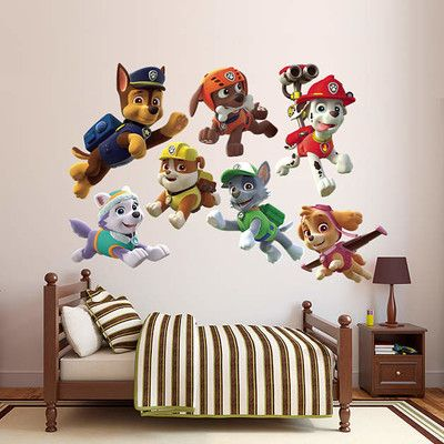 Fathead Nickelodeon PAW Patrol Puppies Peel and Stick Wall Decal & Reviews | Wayfair
