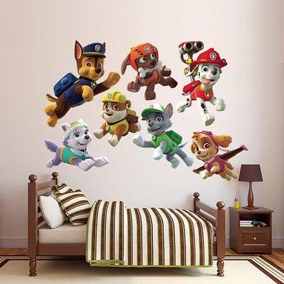 Fathead Nickelodeon PAW Patrol Puppies Peel and Stick Wall Decal & Reviews | Wayfair