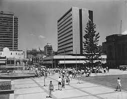"King George Square in its heyday - which is to say, before the council ""renovated"" it and turned it into a concrete wasteland with no shade that's hot enough to cook breakfast on"