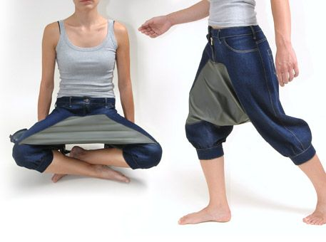 Pic Nic Pants. You're obviously picnicking alone. And you will continue to do so as long as you own these pants.
