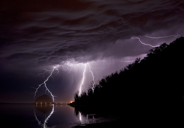 The voice of the Lord is over the waters;      the God of glory thunders,      the Lord thunders over the mighty waters.  The voice of the Lord is powerful;      the voice of the Lord is majestic. -- Psalm 29:3-4