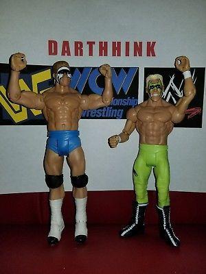 WWE WWF WCW ECW Custom Mattel Basic Elite Action Figure LOT Sting & Lex Luger