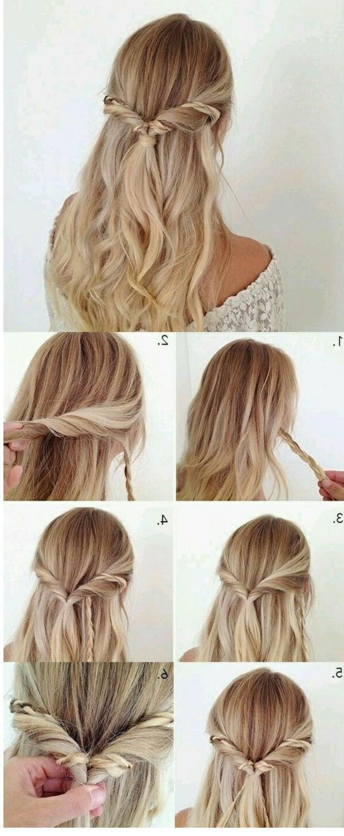 einfache frisuren zum selber machen - Trend Frisuren für Frauen