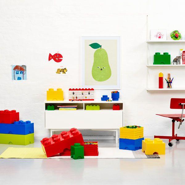 Room Copenhagen Lego Storage Brick 8, blue | Storage | Decoration | Finnish Design Shop