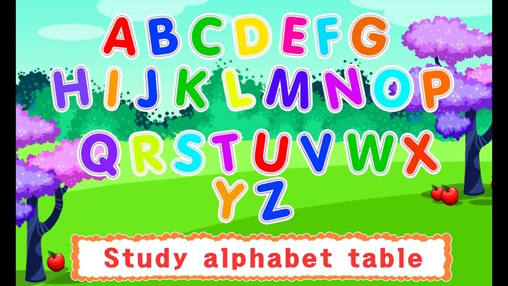 Handwriting, ABC Learning - Writing the Word A to Z for Kids | Alphabets...