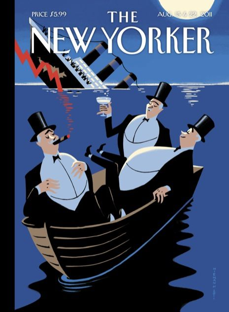the NEW YORKER Aug.2011 by Christoph Niemann