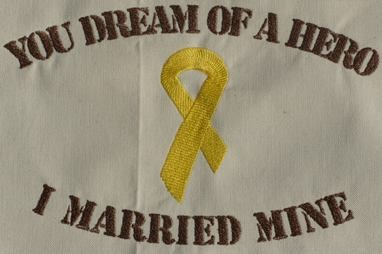 Military Spouse Clip Art | Machine Embroidery Military Hero Designs by SewDragonDesigns
