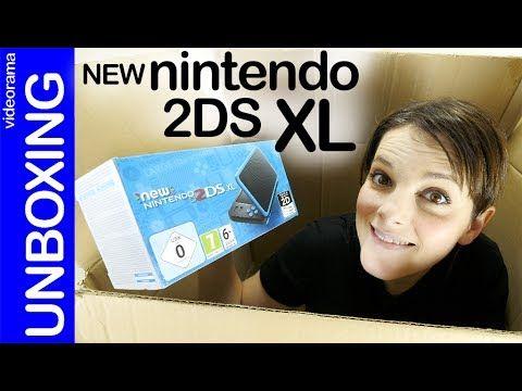 New Nintendo 2DS XL unboxing -Pokémon a toda pantalla-