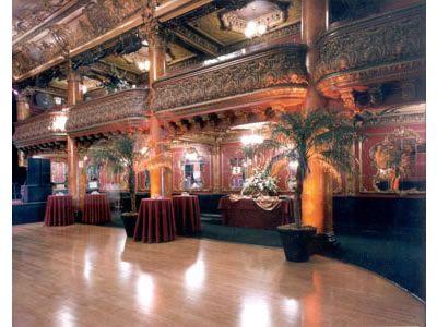 Great American Music Hall San Francisco Wedding Venues San Francisco
