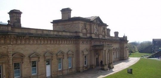 Halifax Railwail Station, em Halifax, West Yorkshire, Inglaterra