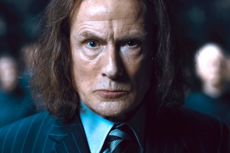 Rufus Scrimgeour (Bill Nighy) - Harry Potter and the Deathly Hallows: Part 1