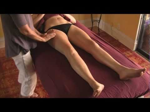 Massage Lymphatic Drainage Therapy Instructional Lymph Drainage, Legs and Thighs