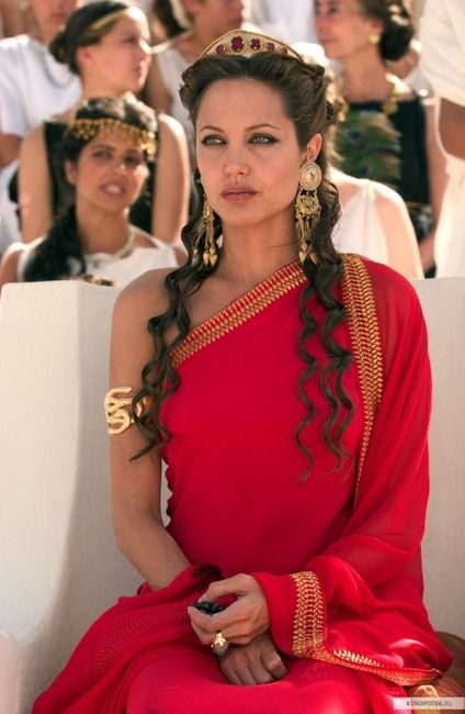 "Angelina Jolie in ""Alexander""                              …"