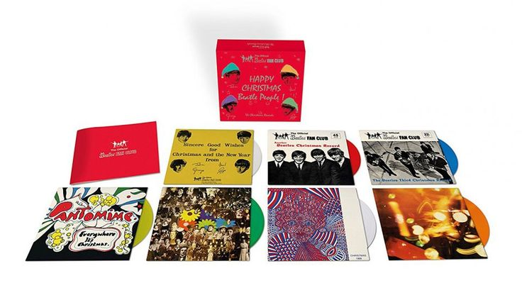 The Beatles announce Christmas fan club box set and Sgt Pepper picture disc