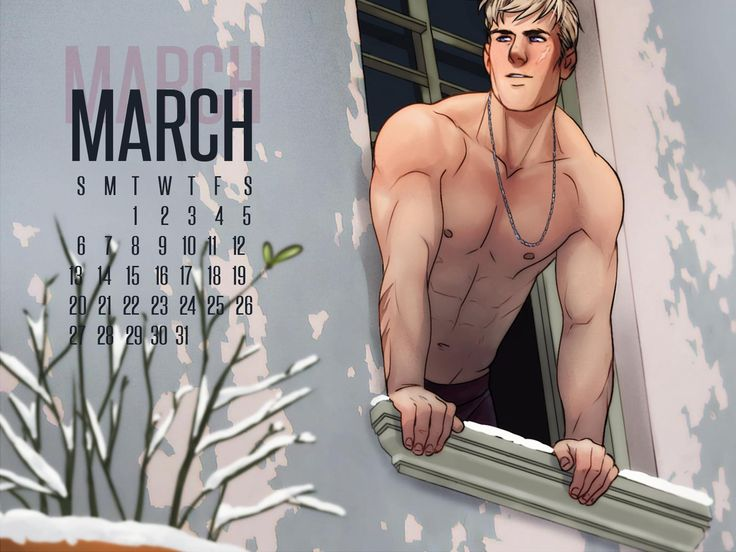 APH 2P Germany Lutz Beilschmidt March Calendar by ask-p2-germany.tumblr.com