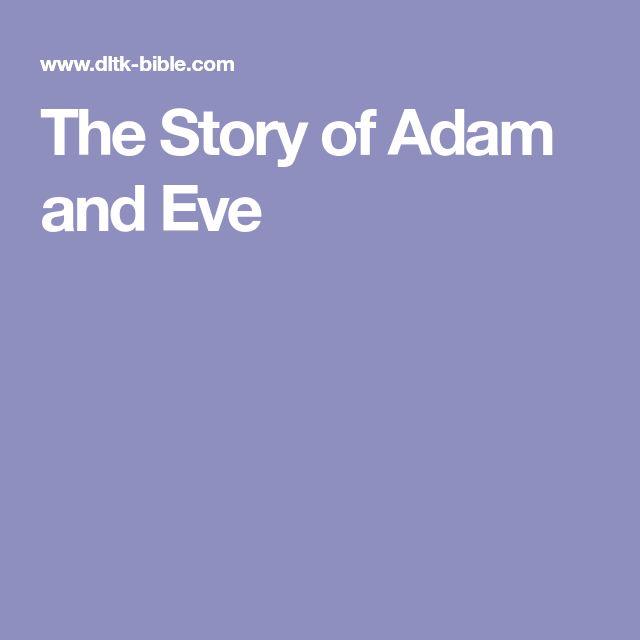adam and eve story pdf