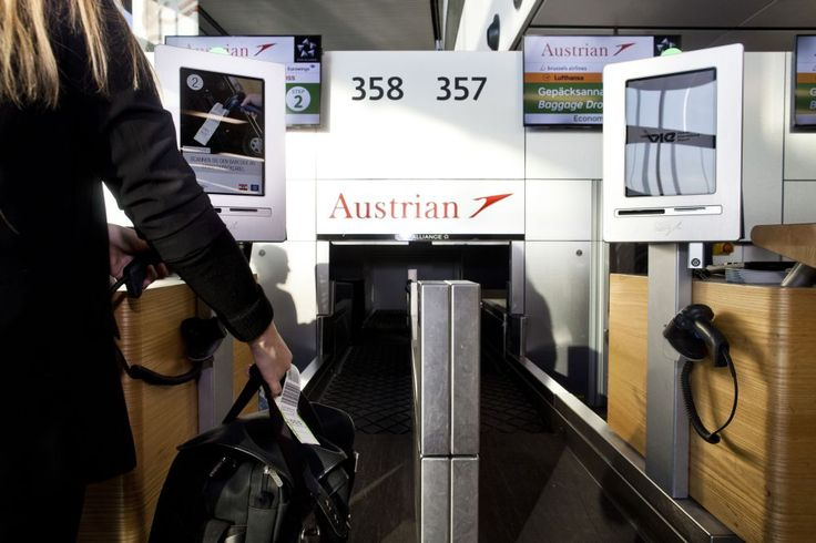 Austrian Airlines: New Self-service Baggage Drop-off at Vienna Airport.