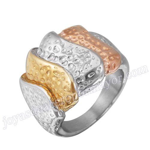 Material: Acero Inoxidable   Nombre:De nuevo diseno anillos de acero inoxidable 316l de forma escama , al por mayor de moda 2013   Model No.:SSRG079   Peso:10.5G   Talla:US size #6 #7 #8 #9   Cantidad minima:50piez/modelo/talla