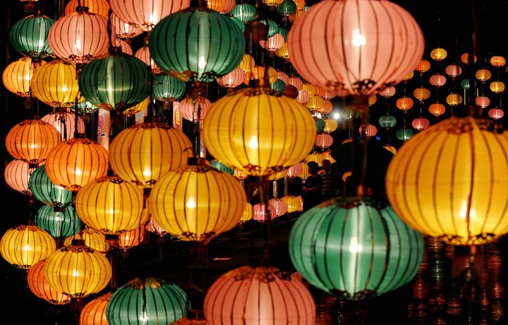 Giant lanterns are displayed as part of Mid-autumn festival celebration at a park in Hong Kong on September 22, 2010. The Mid-Autumn Festival is held on the 15th day of the eighth month in the Chinese calendar; a date that parallels the autumnal equinox of the solar calendar, when the moon is at its fullest. (MIKE CLARKE/AFP/Getty Images) #
