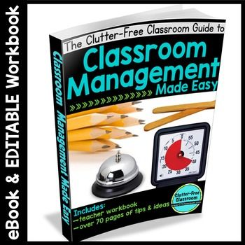 272 best behavior management in the classroom images on pinterest classroom management ebook 80 page ebook editable workbook fandeluxe Choice Image