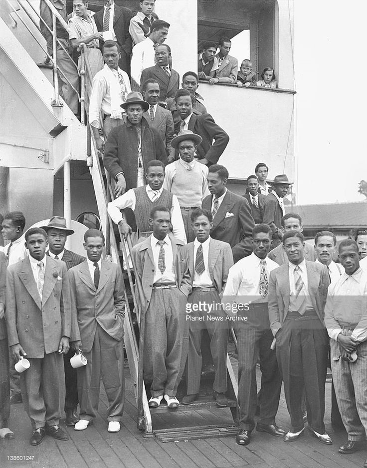 Jamaicans come to Britain for work 22June1948
