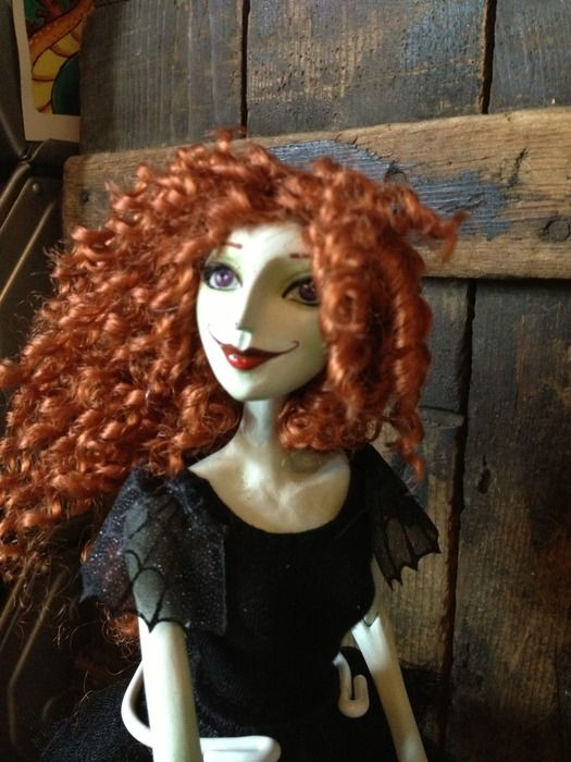 I just backed this------The Scary Godmother Doll by Jill Thompson — Kickstarter. How amazing is this??