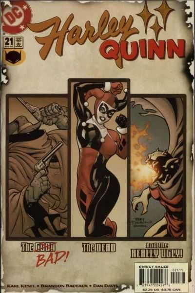 2002-08 - Harley Quinn Volume 1 - #21 - Hell and Highwater! #HarleyQuinnComics #DCComics #HarleyQuinnFan #HarleyQuinn #ComicBooks