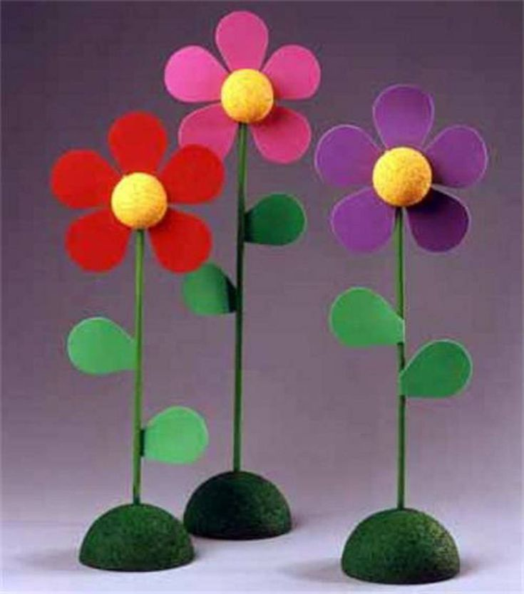 diy foam flower craft from mother 39 s day with