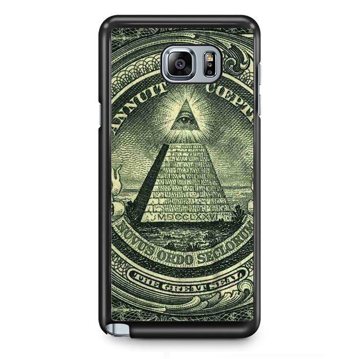 Illuminati Urim and Thummim TATUM-5533 Samsung Phonecase Cover Samsung Galaxy Note 2 Note 3 Note 4 Note 5 Note Edge