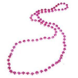 Privateislandparty.com Bachelorette Hot Pink Party Beads Bulk 6544 $3.50 Bachelorette Hot Pink Party Beads Bulk 6544- Hot Pink Beads are perfect for Bachelorette Parties !! GO Bride ! Measures 7mm. Sold as a DZ Pack. Buy in Bulk and Save!