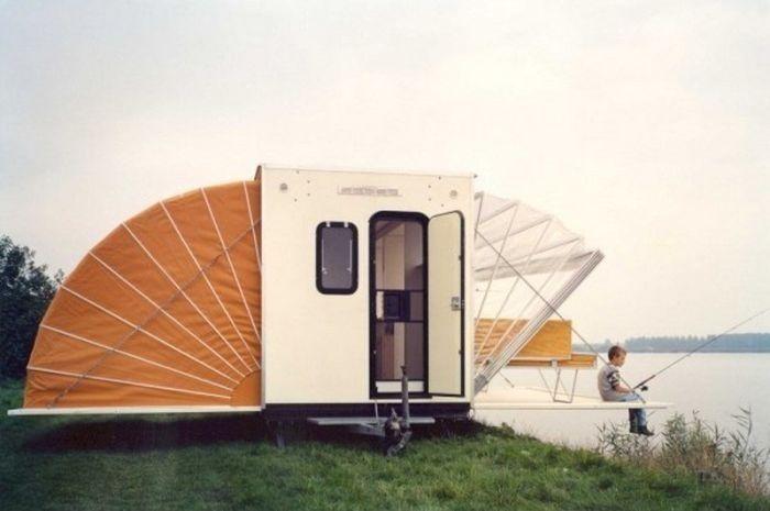 Домик на колесах для путешествий - Сундук идей для вашего дома - интерьеры, дома, дизайнерские вещи для дома