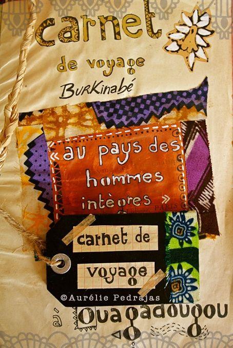page titre carnet de voyage burkinabe