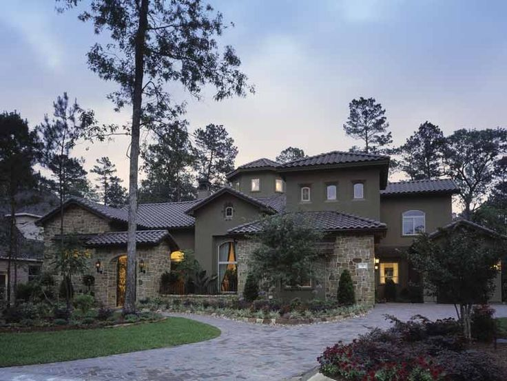 53 best tuscan house plans images on Pinterest | Tuscan house ...