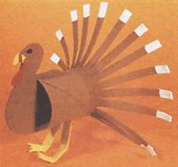 perky turkey - out of a toilet paper roll